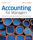 Image for Accounting for managers  : interpreting accounting information for decision making