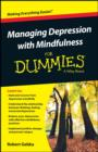 Image for Managing depression with mindfulness for dummies