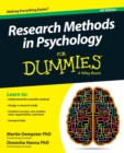 Image for Research methods in psychology for dummies