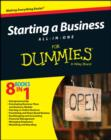 Image for Starting a business all-in-one for dummies