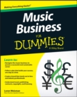 Image for Music business for dummies