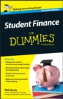 Image for Student finance for dummies