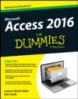 Image for Access 2016 for dummies