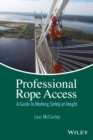 Image for Professional rope access: a guide to working safely at height