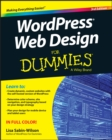 Image for WordPress web design for dummies