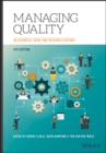 Image for Managing quality  : an essential guide and resource gateway