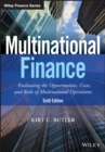 Image for Multinational finance  : evaluating opportunities, costs, and risks of operations