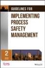 Image for Guidelines for implementing process safety management.