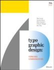 Image for Typographic design  : form and communication