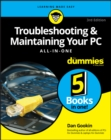 Image for Troubleshooting & maintaining your PC all-in-one