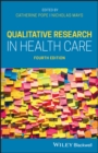 Image for Qualitative research in health care