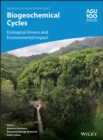 Image for Biogeochemical Cycles : Ecological Drivers and Environmental Impact