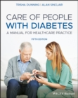 Image for Care of people with diabetes  : a manual for healthcare practice