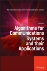 Image for Algorithms for Communications Systems and their Applications