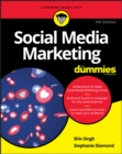 Image for Social media marketing for dummies.