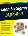 Image for Lean six sigma for dummies