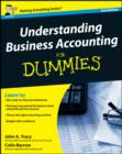 Image for Understanding business accounting for dummies