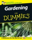 Image for Gardening for dummies