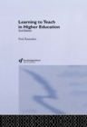 Image for Learning to teach in higher education