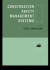 Image for Construction safety management systems