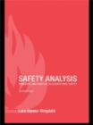 Image for Safety analysis: principles and practice in occupational safety