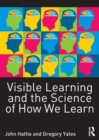 Image for Visible learning and the science of how we learn