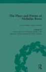 Image for The plays and poems of Nicholas Rowe.: (Poems and Lucan's Pharsalia (books I-III) : Volume IV,