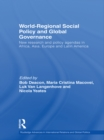 Image for World-regional social policy and global governance: new research and policy agendas in Africa, Asia, Europe and Latin America : 79