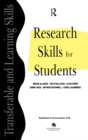 Image for Research Skills for Students.