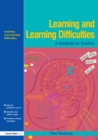 Image for Learning and learning difficulties: approaches to teaching and assessment
