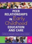 Image for Peer relationships in early childhood care and education