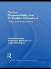 Image for Carbon responsibility and embodied emissions: theory and measurement