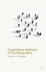Image for Quantitative methods in sociolinguistics