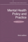 Image for Mental health policy and practice