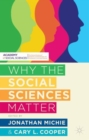 Image for Why the social sciences matter