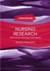 Image for Nursing research  : principles, process and issues