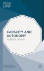 Image for Capacity and autonomy