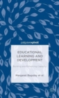 Image for Educational learning and development  : building and enhancing capacity