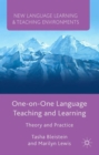 Image for One-on-one language teaching and learning  : theory and practice