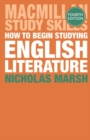 Image for How to begin studying English literature