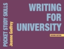 Image for Writing for university