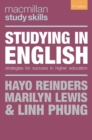 Image for Studying in English  : strategies for success in higher education