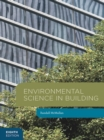 Image for Environmental science in building