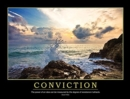 Image for CONVICTION POSTER