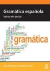 Image for Gramâatica Espaänola  : variaciâon social
