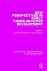 Image for New perspectives in early communicative development