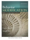 Image for Behavior Modification : What It Is and How To Do It (International Student Edition)