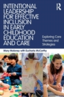 Image for Intentional leadership for effective inclusion in early childhood education and care