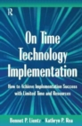 Image for On Time Technology Implementation