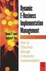 Image for Dynamic E-Business Implementation Management